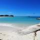 Kitesurfing at Saunders Beach Nassau Bahamas