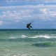 Kiteboarding on Yamacraw Beach - New Providence - Nassau - Bahamas