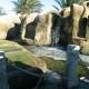 El Gouna Entrance Waterfalls