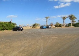Parking at Buzzha Beach