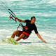 Kiteboarding at Playa del Carmen