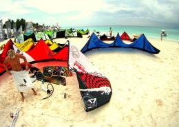 Kiteboarding Playa del Carmen