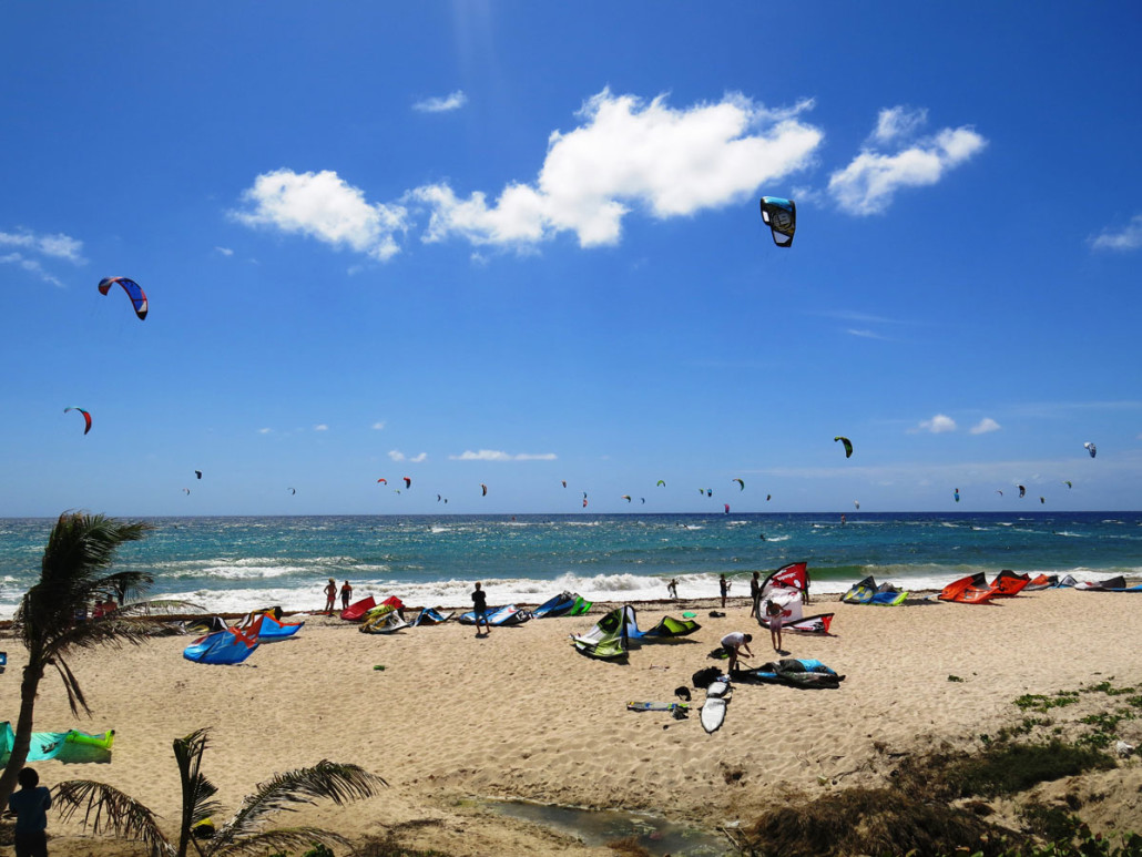 Barbados Kiteboarding Spots - Review of Silver Rocks, and all other